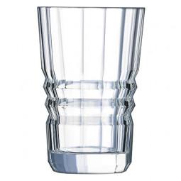 Набор хрустальных высоких стаканов 6 пр. 0.36 л Architecte Cristal d'Arques Paris \ L6586