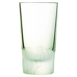 Набор хрустальных высоких стаканов 6 пр. 0.33 л зеленый Intuition Cristal d'Arques Paris \ L8641