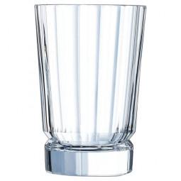 Набор хрустальных высоких стаканов 6 пр. 0.36 л Macassar Cristal d'Arques Paris \ L6592