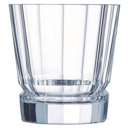 Набор хрустальных низких стаканов 6 пр. 0.32 л Macassar Cristal d'Arques Paris \ L6609