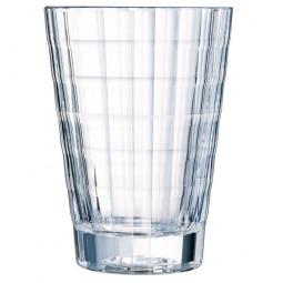 Набор хрустальных стаканов 4 пр. 0.36 л Iroco Cristal d'Arques Paris \ N5194