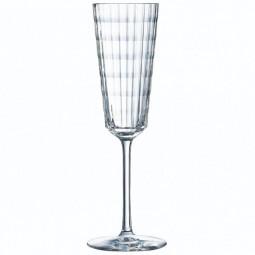 Набор хрустальных фужеров для шампанского 6 пр. 0.17 л Iroco Cristal d'Arques Paris \ N4650