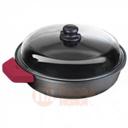 Сотейник со стеклянной крышкой Risoli Soft Safety Cooking 26см \ 01099GF/26TP