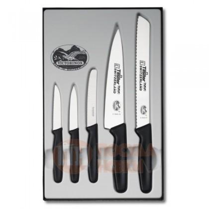 Набор кухонных ножей 5 пр. Victorinox \ 5.1163.5