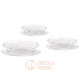 Набор из 3-х универсальных силиконовых крышек Lekue \ 3401400SURU017