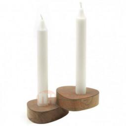 Набор из 2-х подсвечников для высоких свечей 10 см LIND DNA \ 982601
