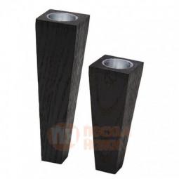 Набор из 2-х магнитных деревянных подсвечников LIND DNA \ 982910