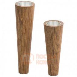Набор из 2-х магнитных деревянных подсвечников LIND DNA \ 989800
