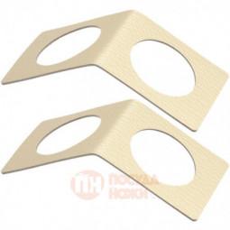 Набор из 2-х кожаных колец для салфеток Loop Bridge LIND DNA \ 990055