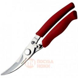 Ножницы кухонные из нержавеющей стали для птицы 20.5 см силиконовая рукоять Mastrad \ F24315