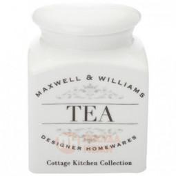 Фарфоровая банка для сыпучих продуктов Tea 500 мл Maxwell&Williams \ MW655-CK22001