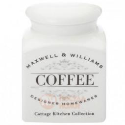 Фарфоровая банка для сыпучих продуктов Coffee 500 мл Maxwell&Williams \ MW655-CK22002