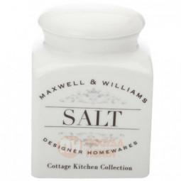 Фарфоровая банка для сыпучих продуктов Salt 500 мл Maxwell&Williams \ MW655-CK22004
