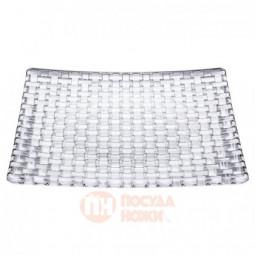 Блюдо квадратное Bossa Nova 28 см бессвинцовый хрусталь Nachtmann \ 91315