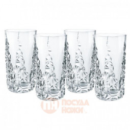Набор из 4-х хрустальных стаканов Sculpture 420 мл Nachtmann \ 101967