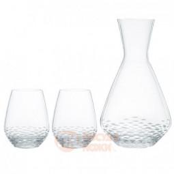Набор для напитков Mosaik из 2 хрустальных стаканов и графина Nachtmann \ 102437