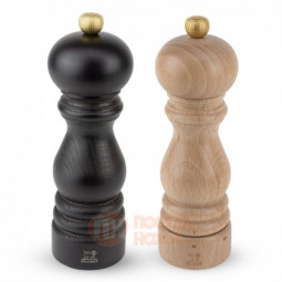 Подарочный набор из 2-х деревянных мельниц для соли и перца 18 см Paris Classic setting Peugeot \ 36379