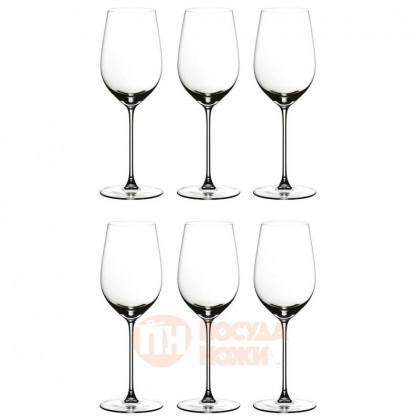 Набор из 6-ти хрустальных бокалов для красного и белого вина Riesling/Zinfandel 395 мл Riedel \ 449/15