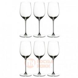 Набор из 6-ти хрустальных бокалов для красного и белого вина Viognier/Chardonnay 370 мл Riedel \ 449/05