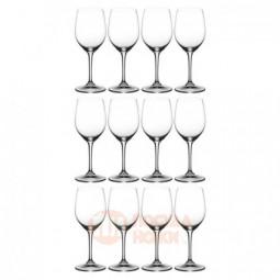 Набор из 12-ти хрустальных бокалов для белого вина Viognier/Chardonnay 350 мл Riedel \ 446/05