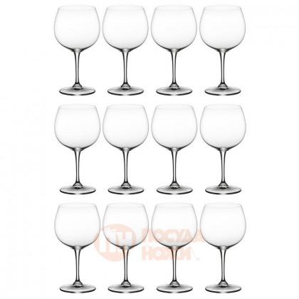 Набор из 12-ти хрустальных бокалов для белого вина Oaked Chardonnay 700 мл Riedel \ 446/97