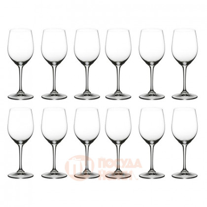 Набор из 12-ти хрустальных бокалов для белого вина Viognier/Chardonnay 365 мл Riedel \ 447/05