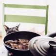 Сковорода с тефлоновым покрытием и крышкой 20 см Risoli \ 00102PIN/20P