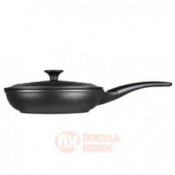 Сковорода с тефлоновым покрытием и крышкой 28 см Risoli \ 00102PIN/28P