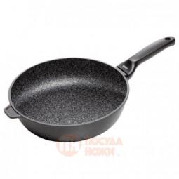 Глубокая сковорода с гранитным покрытием 24 см Risoli \ 00104GRIN/24