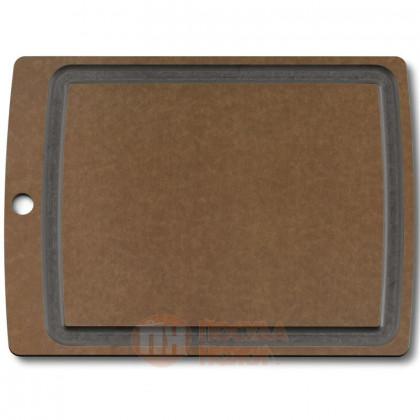 Деревянная разделочная доска с желобом Allrounder L 36.8*28.8 см Victorinox \ 7.4114