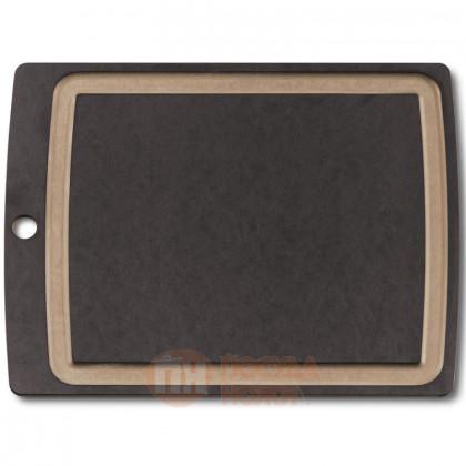 Деревянная разделочная доска с желобом Allrounder L 36.8*28.8 см Victorinox \ 7.4114.3