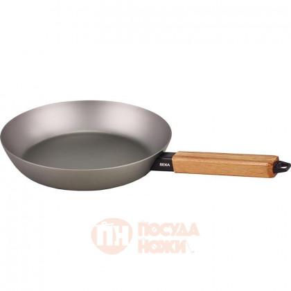 Стальная сковорода с деревянной ручкой 20 см BEKA \ 13977204