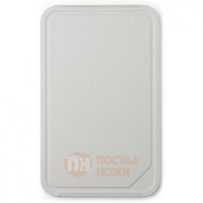 Пластиковая разделочная доска-поднос Tasty+ 43 см светло-серый Brabantia \ 123146