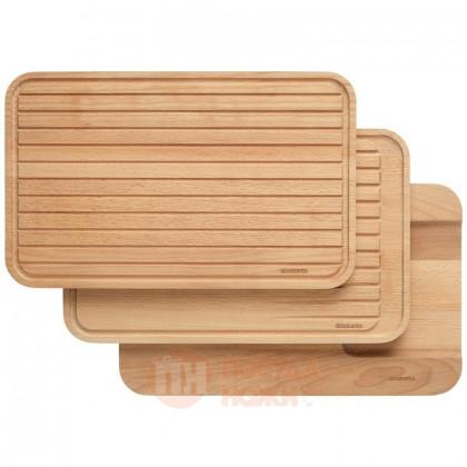 Набор из 3-х деревянных разделочных досок Profile New 40 х 25 см Brabantia \ 260780