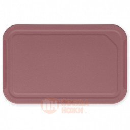 Пластиковая разделочная доска малая Tasty+ 25 см бордовый Brabantia \ 123085
