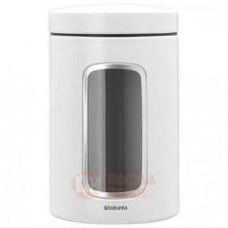 Стальная емкость для сыпучих продуктов с окном 1.4 Brabantia \ 306082