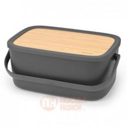 Пластиковая хлебница Nic с крышкой 39.5 см Brabantia \ 128264
