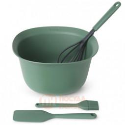 Набор для выпечки Tasty+ из пластиковой миски и 3-х кухонных инструментов Brabantia \ 123207