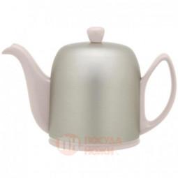 Фарфоровый заварочный чайник с алюминиевым колпаком 700 мл Guy Degrenne \ 236267