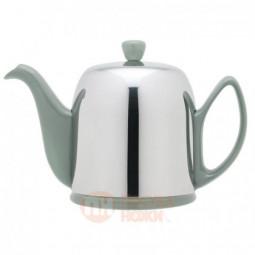 Фарфоровый заварочный чайник с колпаком из нержавеющей стали 700 мл Guy Degrenne \ 236269