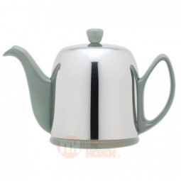 Фарфоровый заварочный чайник с колпаком из нержавеющей стали 900 мл Guy Degrenne \ 236270