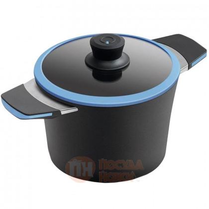 Кастрюля с антипригарным покрытием для индукционных плит 2.5 л 20 см Squality \ 37250a