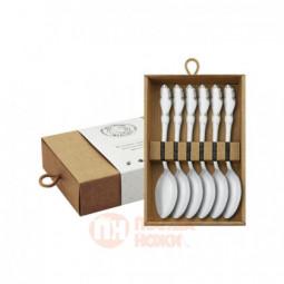 """Набор чайных ложек """"Лира"""" 6 предметов Кольчугино \ КМ0480601"""