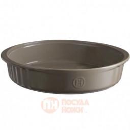 Керамическая круглая форма для десертов 24.5 см флинт Emile Henry \ 956280