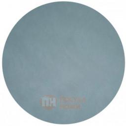 Подстановочная круглая салфетка из натуральной кожи 24 см голубой (Light Blue) LIND DNA \ 982511