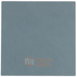 Подставка под кружки и стаканы из натуральной кожи 10 х 10 см голубой (Light Blue) LIND DNA \ 982499