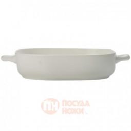 Фарфоровое квадратное блюдо для запекания 24.5 см белый Maxwell&Williams \ MW655-AW0252