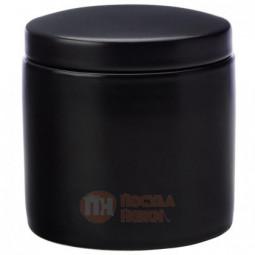 Фарфоровая банка для сыпучих продуктов 1 л черный Maxwell&Williams \ MW451-IA0053