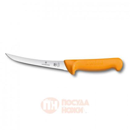 Нож обвалочный с изогнутым лезвием 16 см VICTORINOX \ 5.8405.16