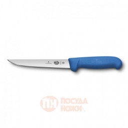 Нож обвалочный VICTORINOX Fibrox с прямым лезвием 15 см синий \ 5.6002.15